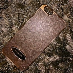 Gold, Michael Kors, Hard iPhone 5s Case